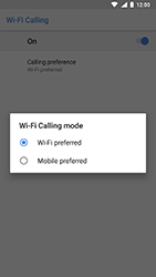 Nokia 8 - WiFi - Enable WiFi Calling - Step 11