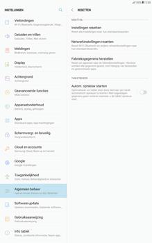 Samsung Galaxy Tab A 10.1 - Android Nougat - Instellingen aanpassen - Fabrieksinstellingen terugzetten - Stap 6