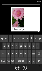 Nokia Lumia 925 - MMS - hoe te versturen - Stap 11
