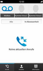 BlackBerry Z10 - Anrufe - Rufumleitungen setzen und löschen - 0 / 0