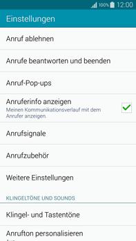 Samsung Galaxy Note 4 - Anrufe - Anrufe blockieren - 2 / 2