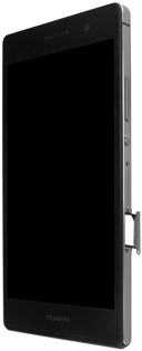 Huawei Ascend P7 - SIM-Karte - Einlegen - 1 / 1