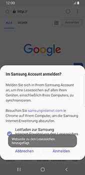Samsung Galaxy S9 - Android Pie - Internet und Datenroaming - Verwenden des Internets - Schritt 11