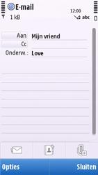 Nokia C5-03 - e-mail - hoe te versturen - stap 8
