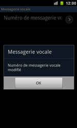 Samsung I9100 Galaxy S II - Messagerie vocale - Configuration manuelle - Étape 8