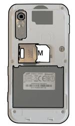 Samsung S5230 Star - SIM-Karte - Einlegen - Schritt 4