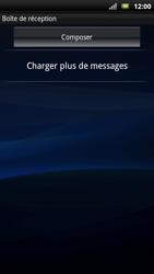 Sony Xperia Neo - E-mail - Configuration manuelle - Étape 4