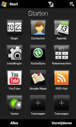 HTC T7373 Touch Pro II - internet - hoe te internetten - stap 2