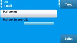 Nokia N97 - e-mail - handmatig instellen - stap 6
