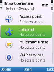 Nokia C5-00 - Internet - Manual configuration - Step 7