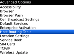 BlackBerry 9700 Bold - Settings - Configuration message received - Step 5