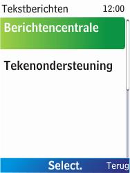 Nokia X2-00 - SMS - Handmatig instellen - Stap 7