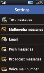 Samsung S5620 Monte - E-mail - Manual configuration - Step 5
