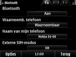 Nokia E6-00 - bluetooth - aanzetten - stap 7