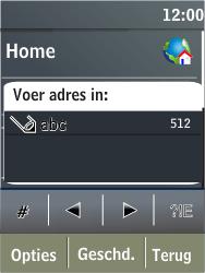 Nokia X3-02 - Internet - Hoe te internetten - Stap 4