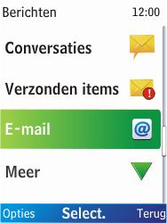 Nokia X2-00 - E-mail - handmatig instellen - Stap 4