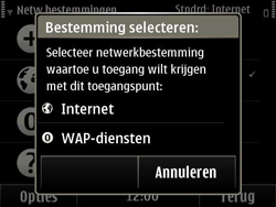 Nokia E6-00 - wifi - handmatig instellen - stap 12