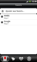HTC S510e Desire S - Internet - navigation sur Internet - Étape 11