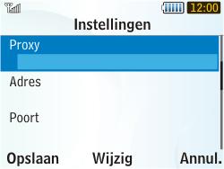 Samsung S3350 Chat 335 - Internet - Handmatig instellen - Stap 9
