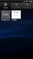 Sony Xperia Neo - Internet - Navigation sur Internet - Étape 8