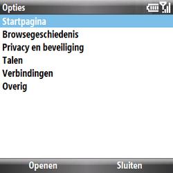 Samsung B7330 Omnia Pro - internet - handmatig instellen - stap 11