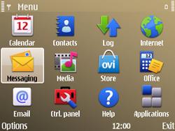 Nokia E72 - SMS - Manual configuration - Step 3