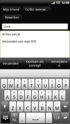 HTC Z715e Sensation XE - E-mail - e-mail versturen - Stap 7