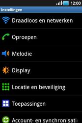 Samsung S5660 Galaxy Gio - wifi - handmatig instellen - stap 4