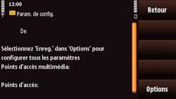 Nokia N97 Mini - MMS - Configuration automatique - Étape 6