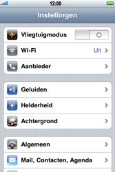 Apple iPhone 3G - Bellen - in het buitenland - Stap 3