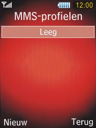 Samsung S5550 Chester - MMS - handmatig instellen - Stap 7