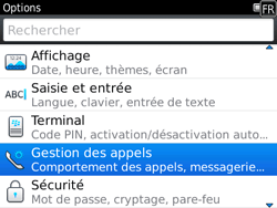 BlackBerry 9780 Bold - Messagerie vocale - Configuration manuelle - Étape 4