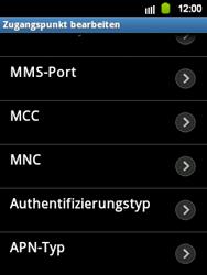 Samsung S5360 Galaxy Y - MMS - Manuelle Konfiguration - Schritt 10