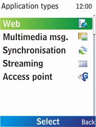Nokia X2-00 - Internet - Manual configuration - Step 7