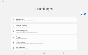 Samsung Galaxy Tab S7 - Netzwerk - Manuelle Netzwerkwahl - Schritt 4