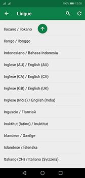 Huawei P20 - Android Pie - Operazioni iniziali - Come aggiungere una lingua alla tastiera - Fase 9