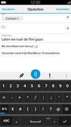 BlackBerry Leap - E-mail - E-mail versturen - Stap 12