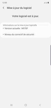 Samsung Galaxy Note10 - Appareil - Mises à jour - Étape 8