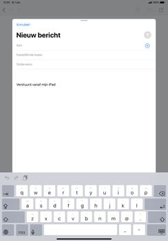 Apple ipad-pro-11-inch-2018-model-a1934- ipados-13 - E-mail - Hoe te versturen - Stap 4