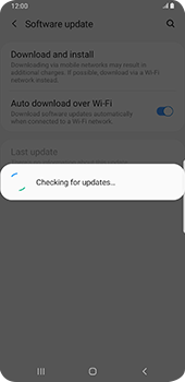 Samsung Galaxy S9 Plus - Android Pie - Software - Installing software updates - Step 7