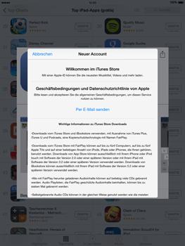 Apple iPad Air iOS 8 - Apps - Einrichten des App Stores - Schritt 10
