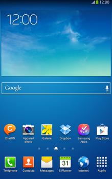 Samsung Galaxy Tab 3 8-0 LTE - Internet et roaming de données - Comment vérifier que la connexion des données est activée - Étape 1
