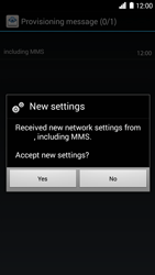 Huawei Ascend G6 - MMS - Automatic configuration - Step 6