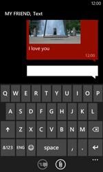Nokia Lumia 720 - MMS - Sending pictures - Step 12