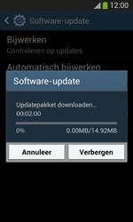 Samsung I8200N Galaxy S III Mini VE - Software updaten - Update installeren - Stap 9