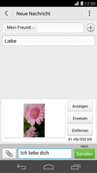 Huawei Ascend P7 - MMS - Erstellen und senden - Schritt 19
