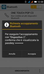 Alcatel One Touch Pop C3 - Bluetooth - Collegamento dei dispositivi - Fase 8