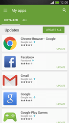 HTC One Mini - Applications - How to check for app-updates - Step 6