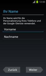 Samsung Galaxy S II - Apps - Einrichten des App Stores - Schritt 5