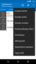 HTC One M9 - Anrufe - Anrufe blockieren - Schritt 5